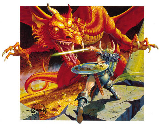 Illustrazioni di Larry Elmore
